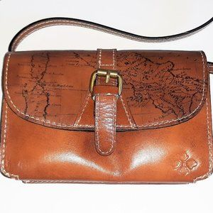 Patricia Nash Torri Map crossbody bag